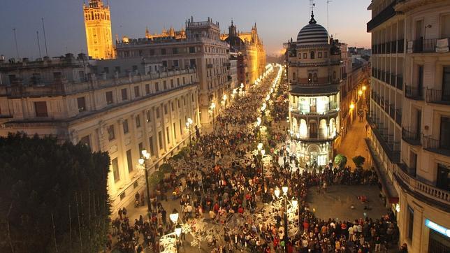 Plaza de San Francisco, Sevilla, webcam en directo